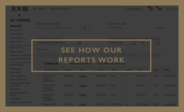 How Reports Work